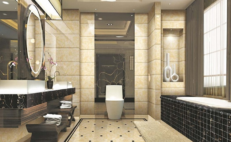 arredamento-classico-moderno-bagno-marmo