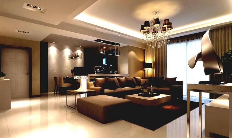 Stile classico moderno idee ad hoc per ogni stanza della for Arredamento classico moderno soggiorno