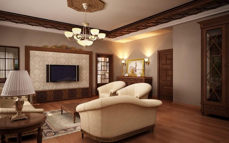 arredamento-salotto-mobili-stile-classico