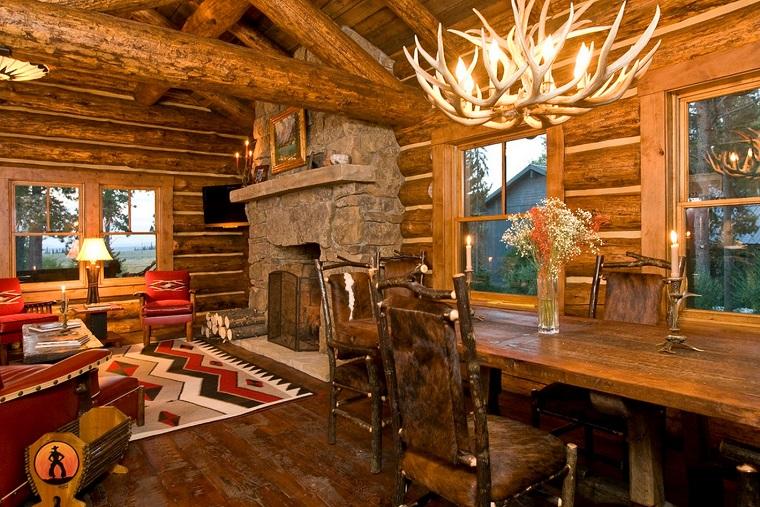 arredamento-soggiorno-pareti-legno-stile-rustico