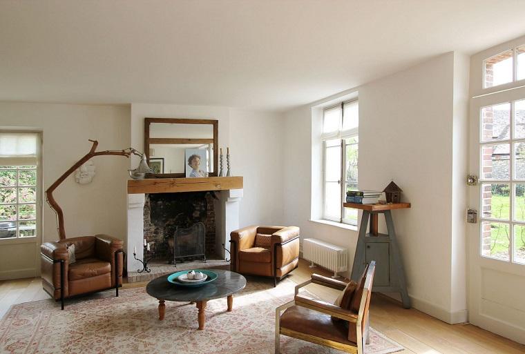arredamento-soggiorno-stile-rustico-pareti-bianche