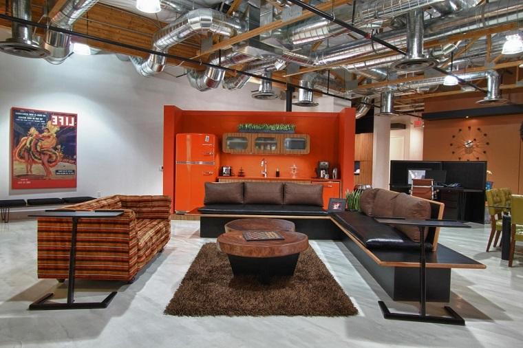 arredamento-stile-industriale-ufficio-elegante