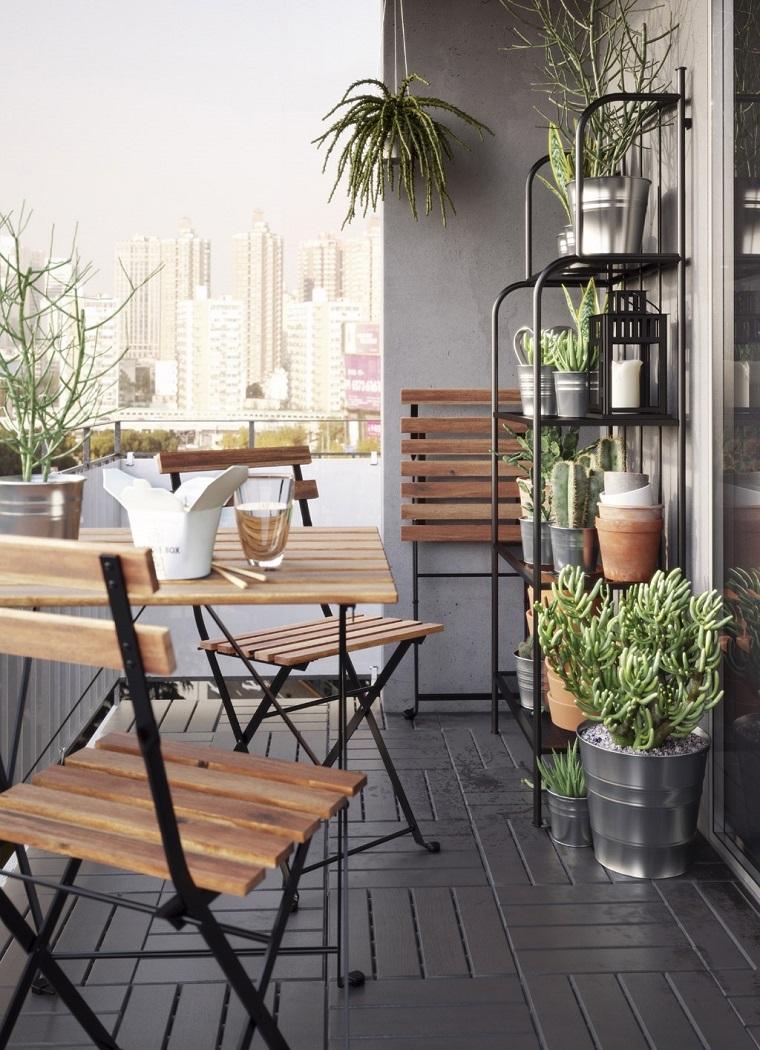 Idee Arredo Terrazzo Piccolo arredare balcone piccolo: tante idee e composizioni