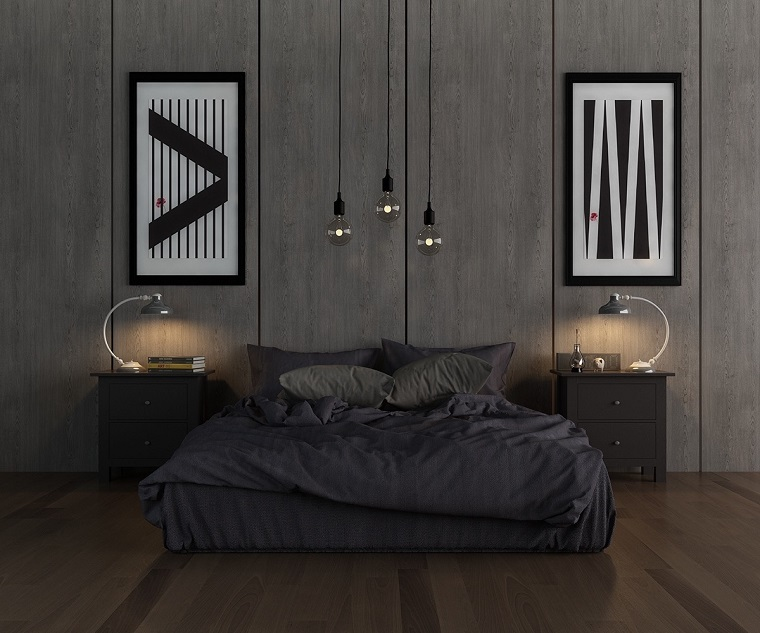 arredare-camera-da-letto-stile-maschile-grigio