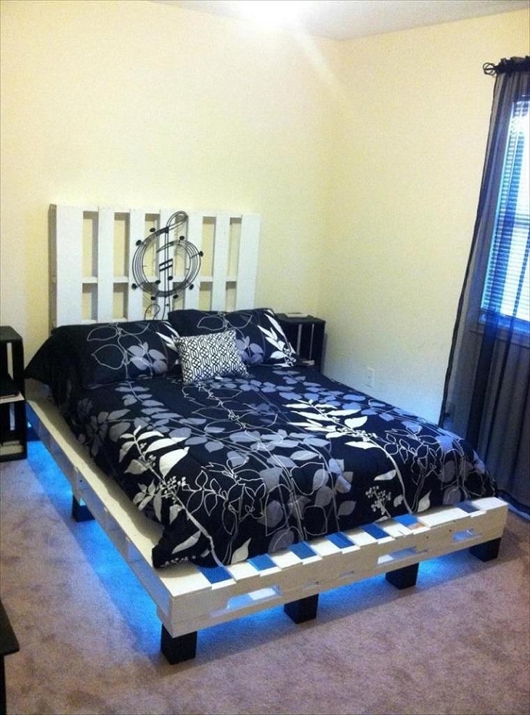 arredare con i bancali-struttura-letto