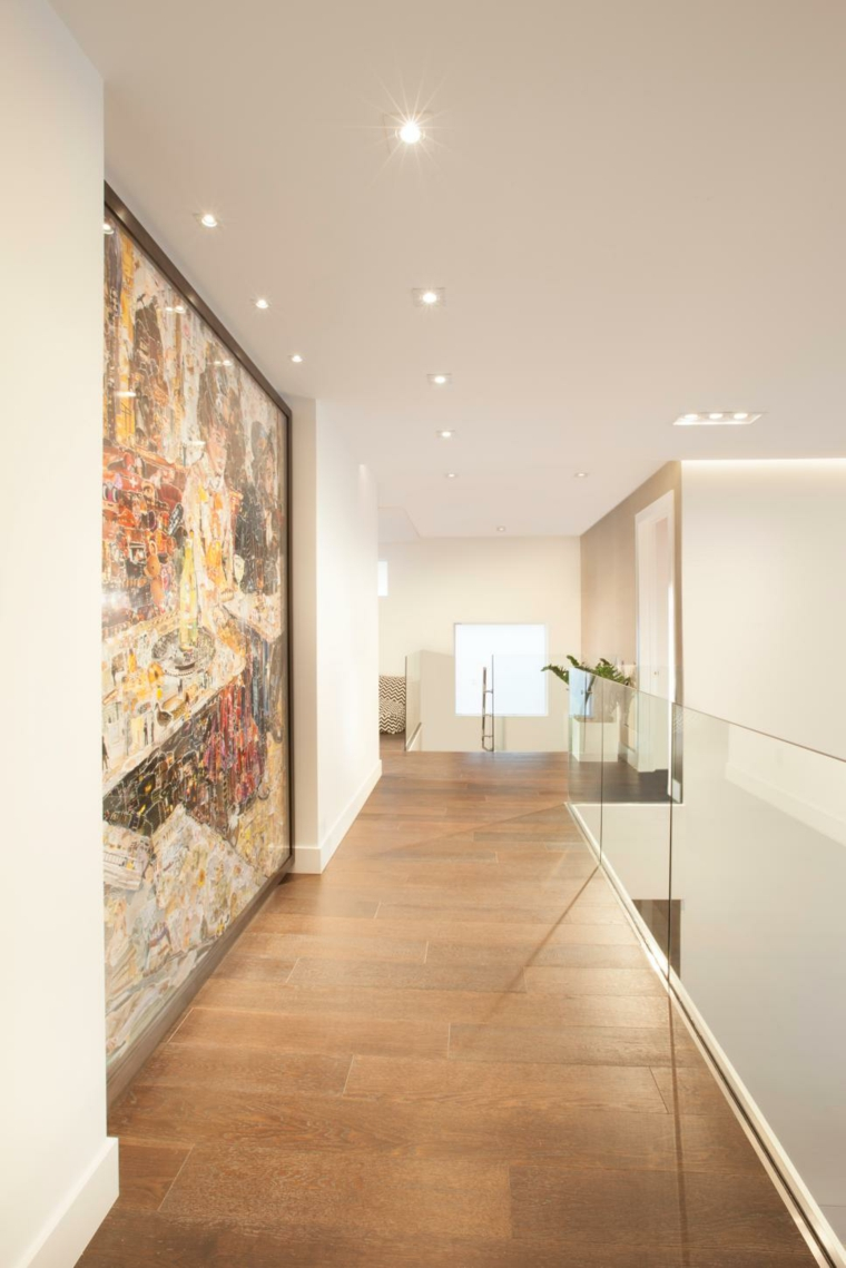 arredare corridoio idea-particolare-originale