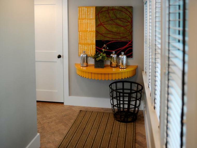 arredare corridoio suggerimento-fresco-colorato