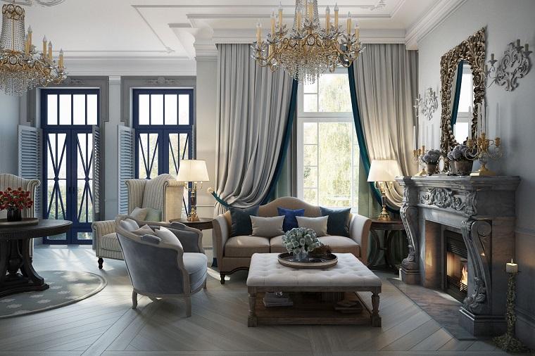 arredare-soggiorno-stile-classico-idea-camino