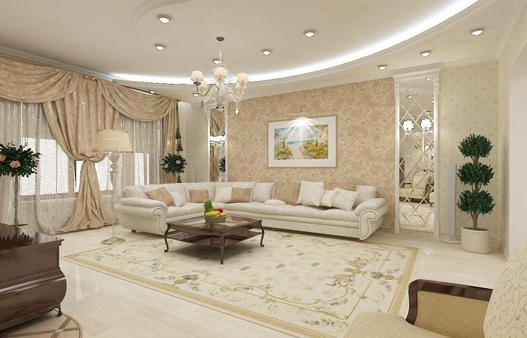 arredare-soggiorno-stile-classico-tonalita-pastello