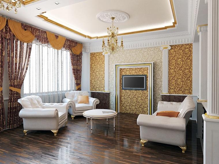 arredare-soggiorno-stile-classico-tv