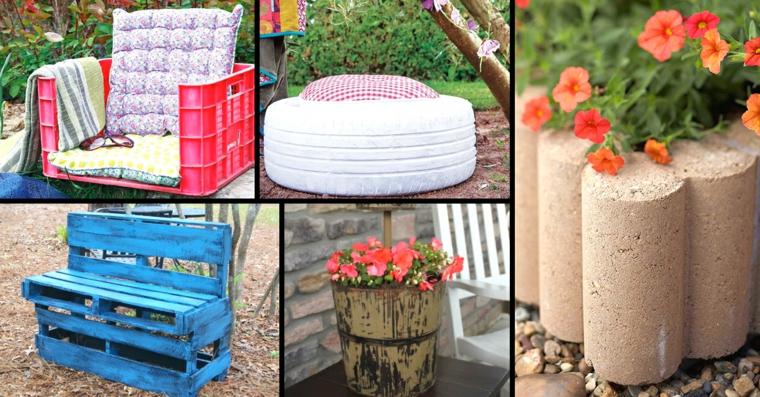 Arredo giardino fai da te ecco 30 idee molto originali - Fai da te arredo giardino ...