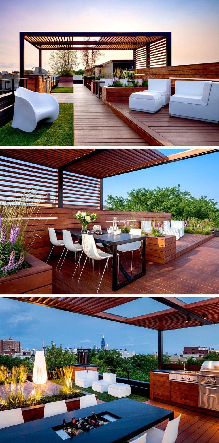 Come arredare un terrazzo in modo originale e creativo - Arredo terrazzo idee ...