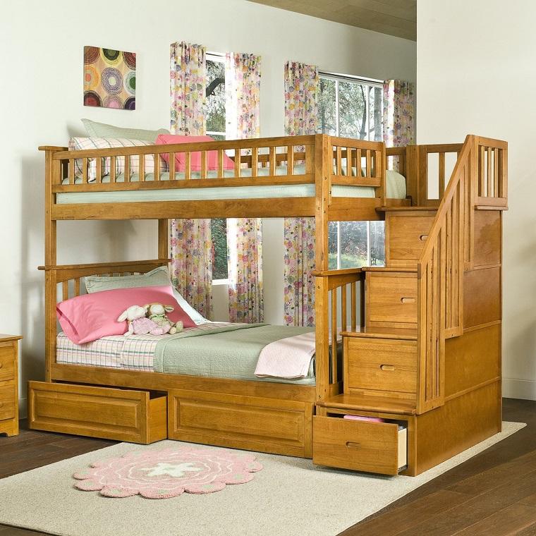 camera-a-ponte-struttura-legno-chiaro