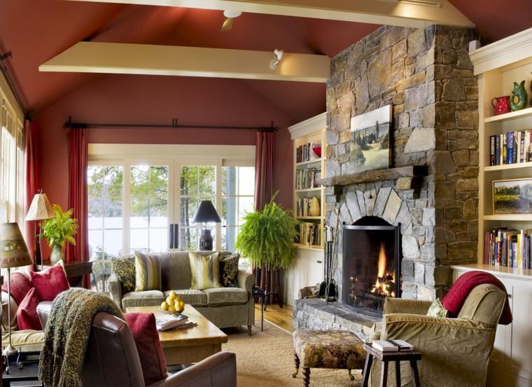 caminetti rustici idea-particolare-soggiorno-speciale