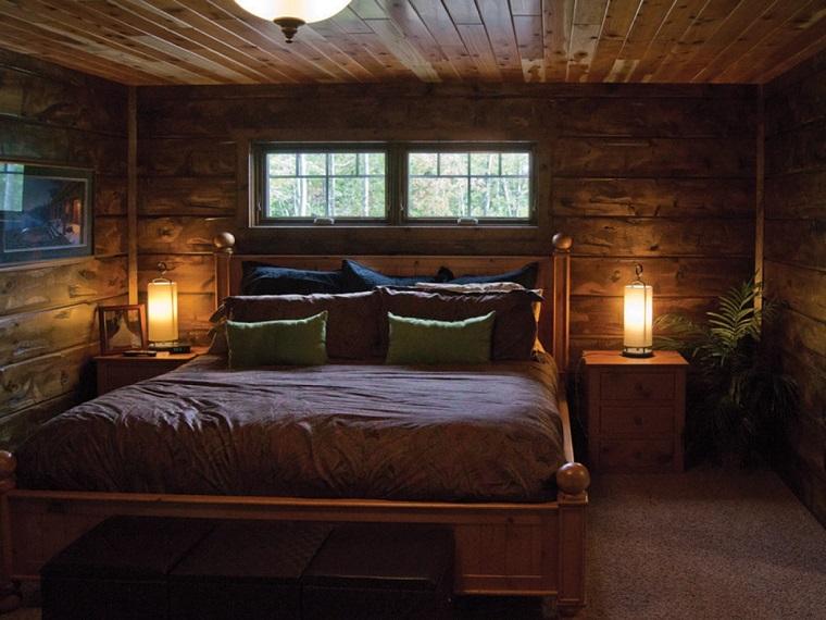 case-in-montagna-camera-letto-legno