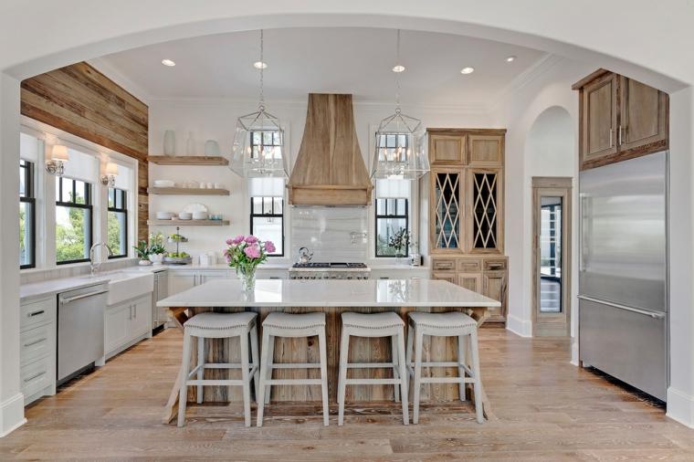 Colore parete cucina ecco come scegliere quello pi - Cambiare colore ante cucina ...