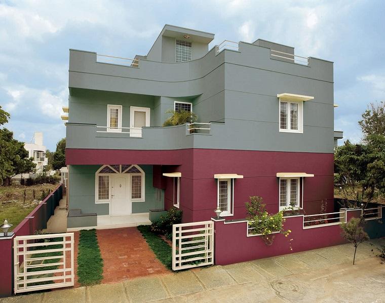 Pittura esterna casa una mini guida per scegliere il colore ad hoc - Colori case esterni ...