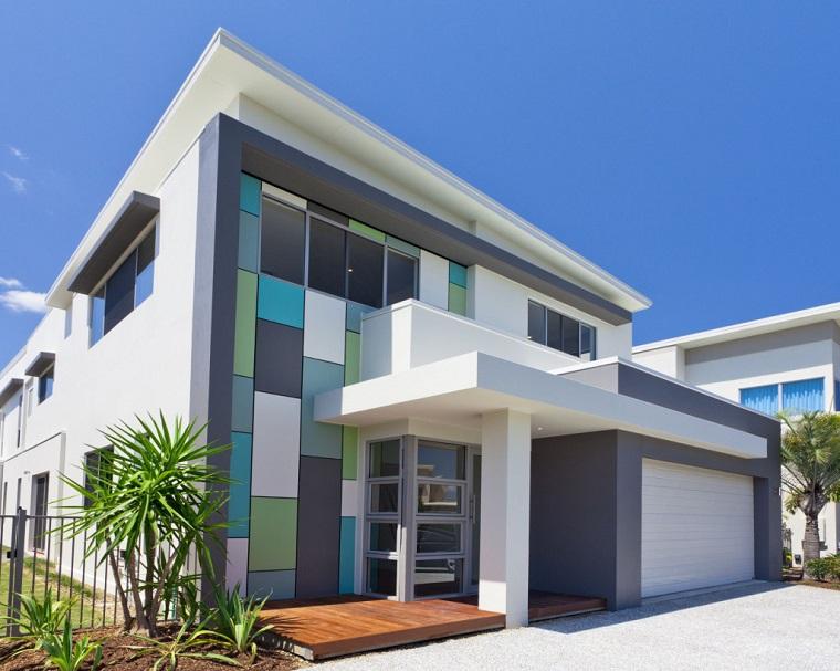 Pittura esterna casa colori idee di colore casa esterno - Colore esterno casa tortora ...