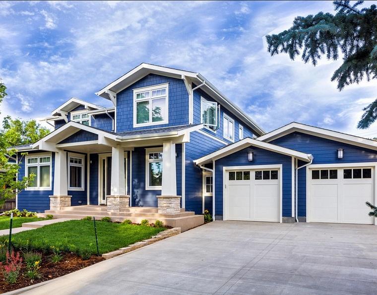 Nuovi Colori Per Esterno Casa : Pittura esterna casa una mini guida per scegliere il colore ad