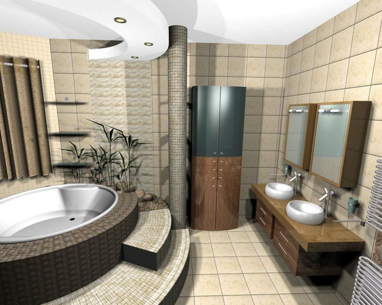 come-arredare-casa-bagno-design-classico