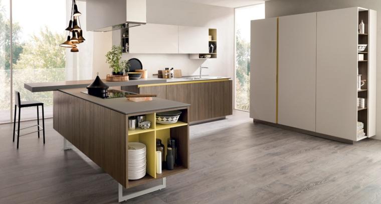 come arredare casa-cucina-design-moderno