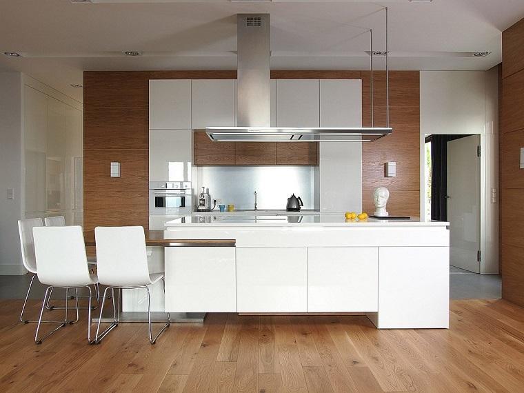come arredare casa-cucina-inserti-legno