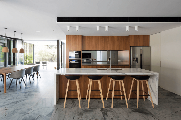 come arredare casa-cucina-mobili-legno