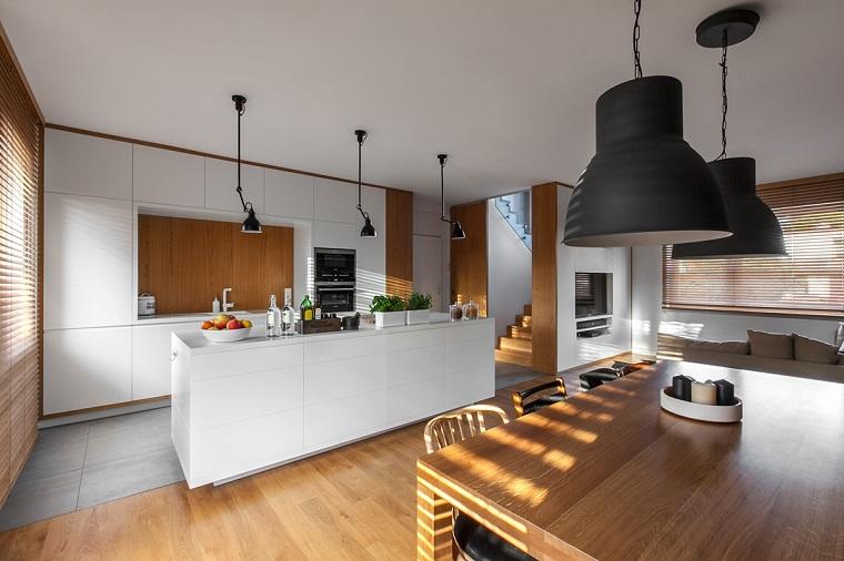 come arredare casa-cucina-open-space