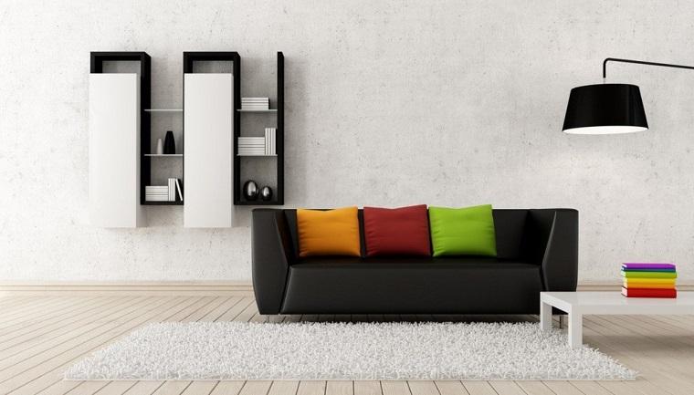 come arredare salotto-stile-minimalista