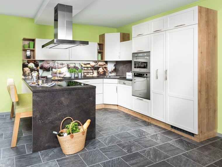 cucina angolare-idea-isola-laterale