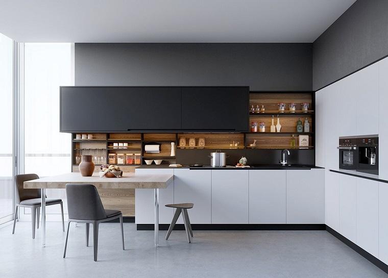 Mensole per cucina piani d 39 appoggio per attrezzare le for Piani in stile louisiana