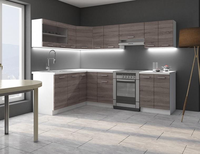 cucina angolare una configurazione adatta a quasi tutti gli spazi. Black Bedroom Furniture Sets. Home Design Ideas