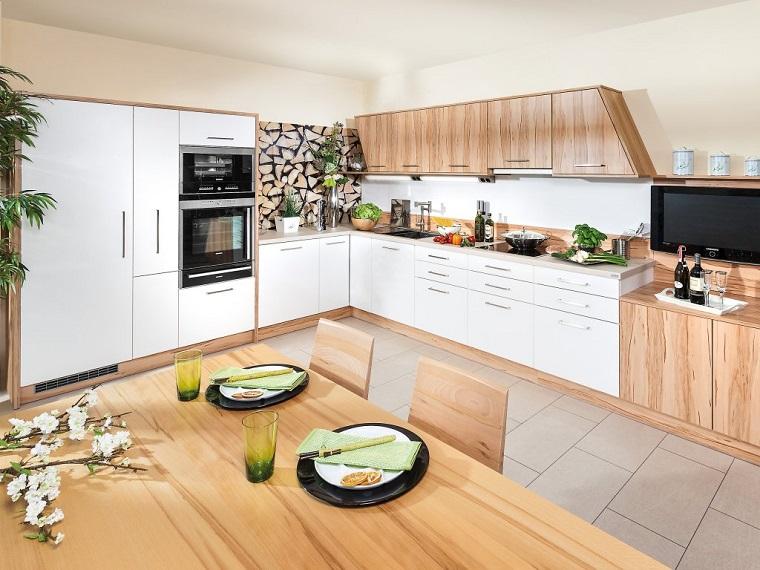 Cucina angolare una configurazione adatta a quasi tutti - Composizione cucina ad angolo ...
