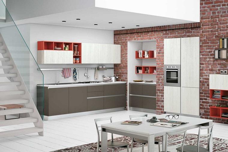 Cucina angolare una configurazione adatta a quasi tutti gli spazi - Cucine a parete ...