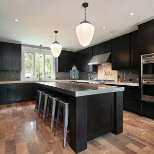 1001 idee per cucine moderne piccole soluzioni di design - Isola centrale per cucina ...