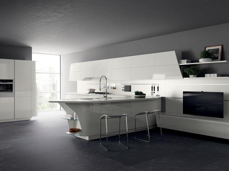 Cucine con penisola belle funzionali e soprattutto di for Designer cucine