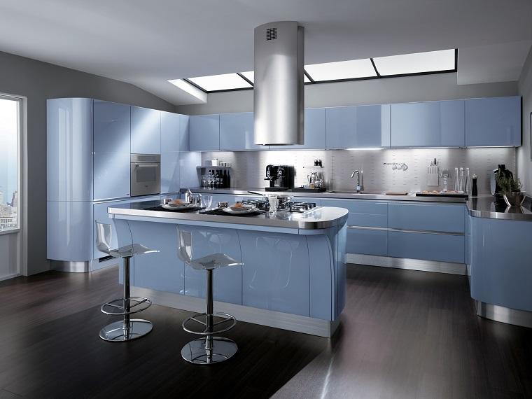 Cucine con penisola belle funzionali e soprattutto di - Belle cucine moderne ...