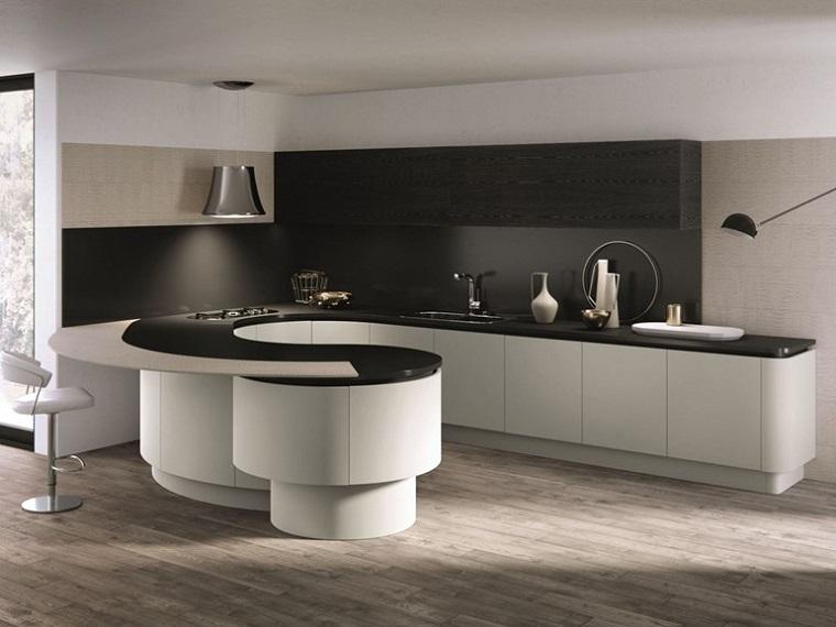 Cucine con penisola belle funzionali e soprattutto di design - Cucine con penisola prezzi ...