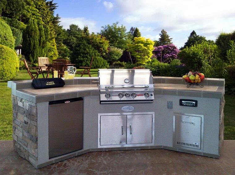 Cucine da giardino ecco come trasformare il proprio outdoor - Cucine per esterno ...