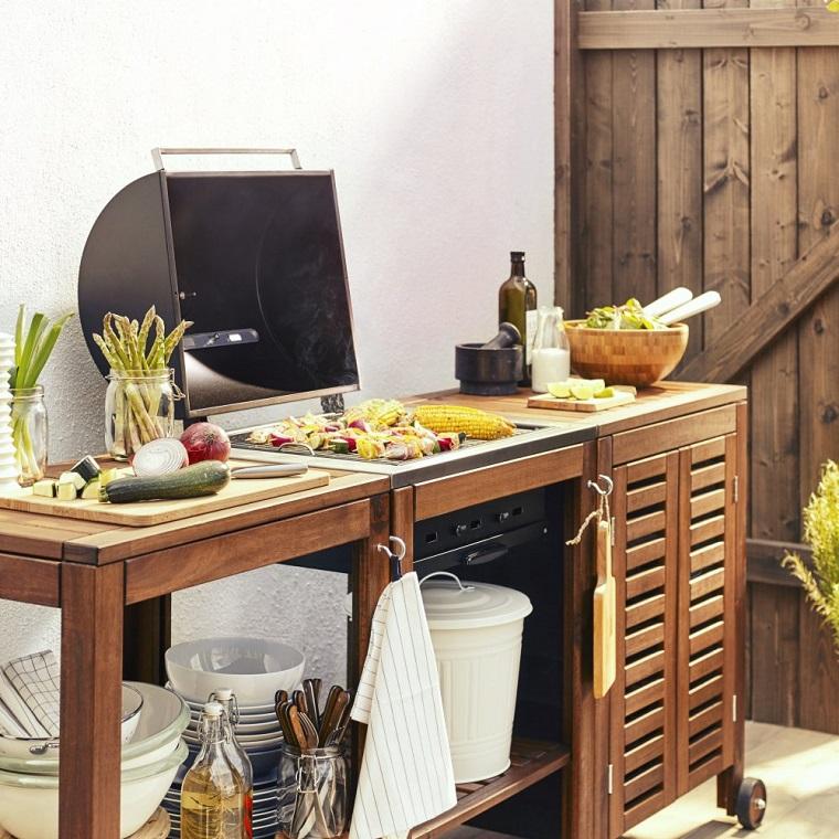 cucine da giardino-soluzione-legno