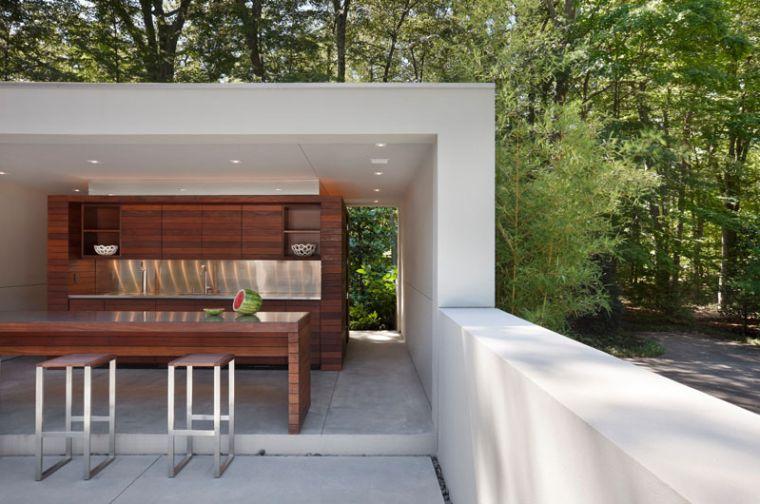 cucine da giardino-stile-contemporaneo-legno