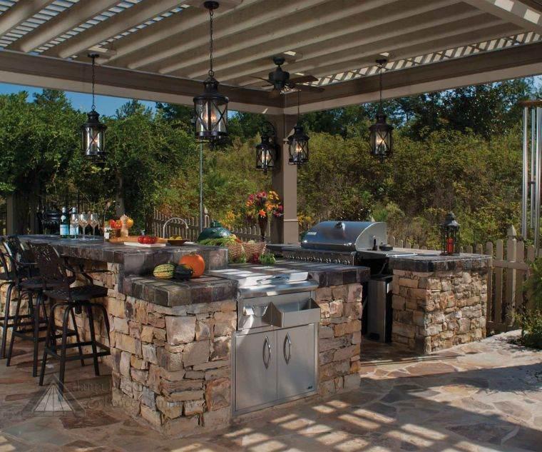 Cucine da giardino ecco come trasformare il proprio outdoor - Cucine in stile rustico ...