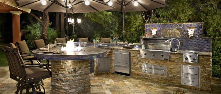 cucine da giardino-stile-rustico