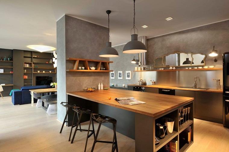 cucine-isola-centrale-stile-urban