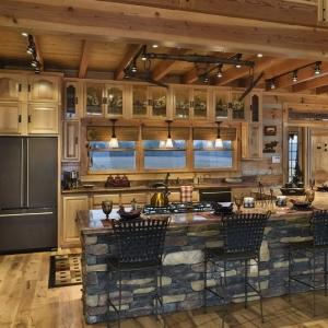 Cucine rustiche, composizioni calde e accoglienti ispirate alla natura