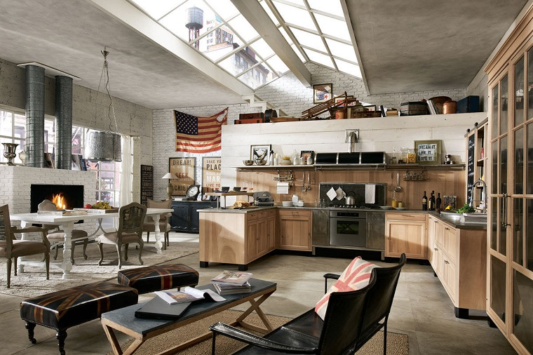 cucine-rustiche-idea-open-space