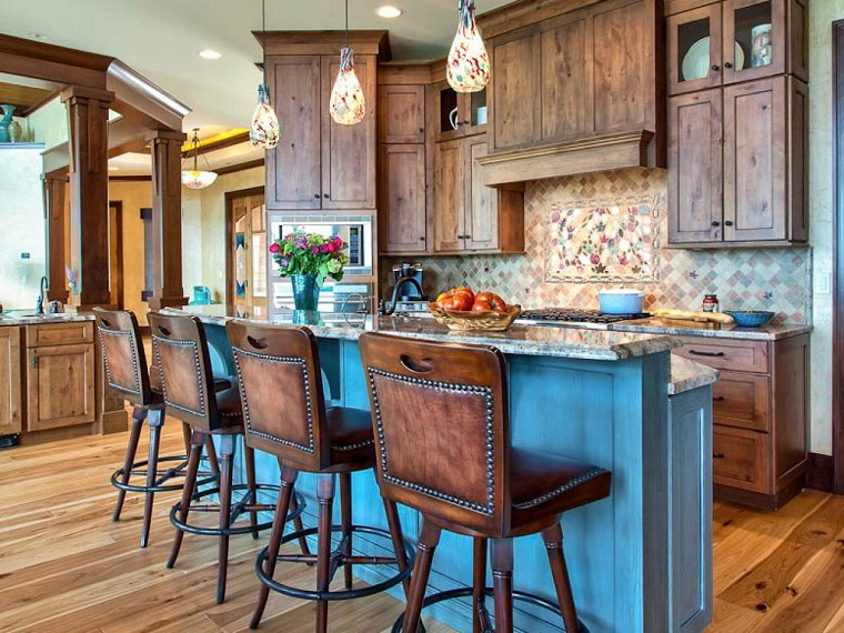 cucine-rustiche-mobili-pavimento-legni