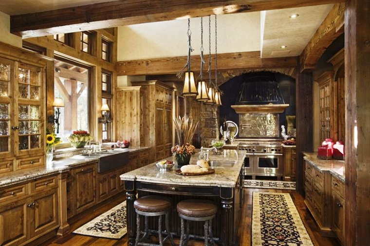 cucine rustiche-proposta-ampia-funzionale