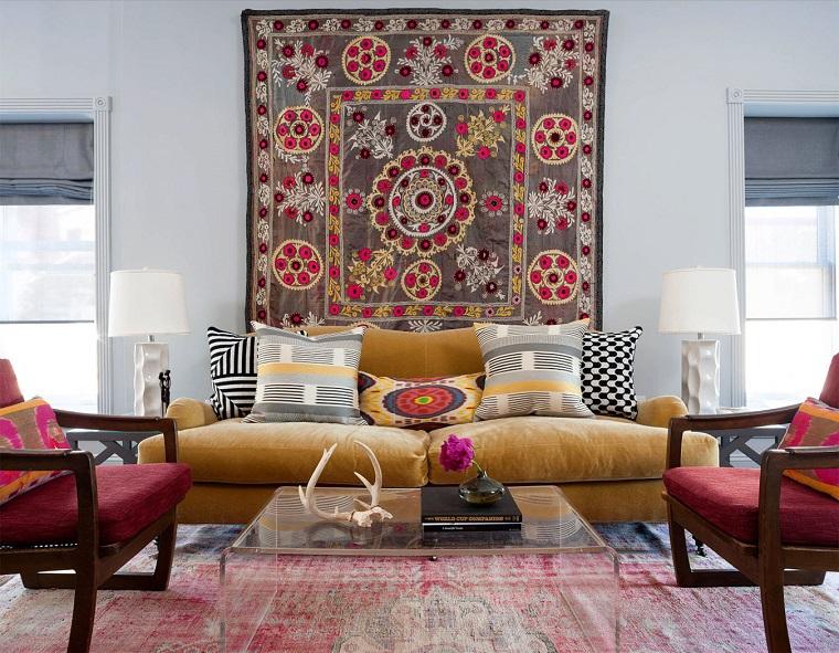 decorare pareti-idea-originale-tappeto