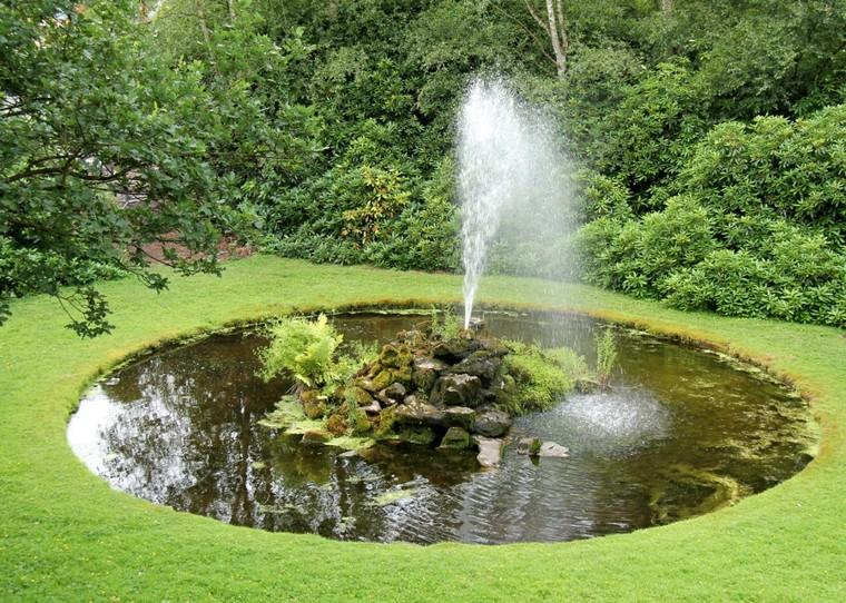 fontane da giardino-rotonda-stile-tradizionale